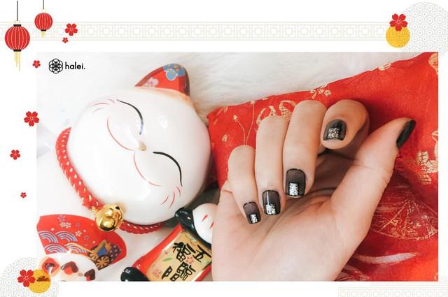 """Đón Tết long lanh cùng bộ sưu tập nail """"Mèo Thần Tài"""" cực cute - Ảnh 9."""
