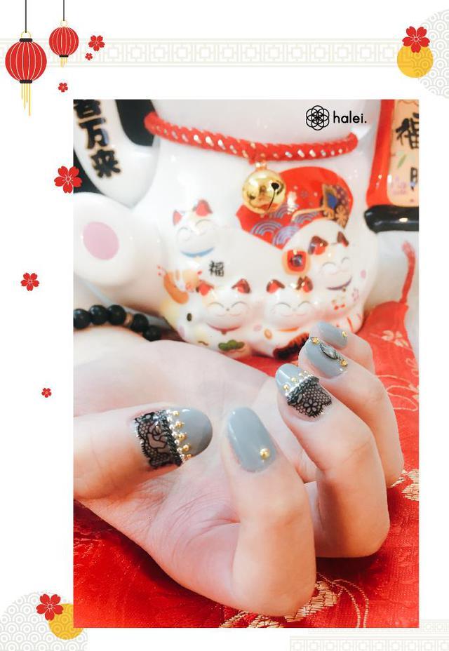"""Đón Tết long lanh cùng bộ sưu tập nail """"Mèo Thần Tài"""" cực cute - Ảnh 11."""