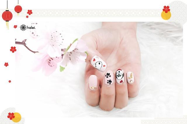 """Đón Tết long lanh cùng bộ sưu tập nail """"Mèo Thần Tài"""" cực cute - Ảnh 13."""