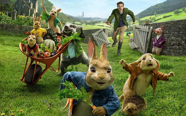 Chú Thỏ Peter tinh nghịch sẽ xuất hiện trên màn ảnh rộng đầu năm mới - Ảnh 2.