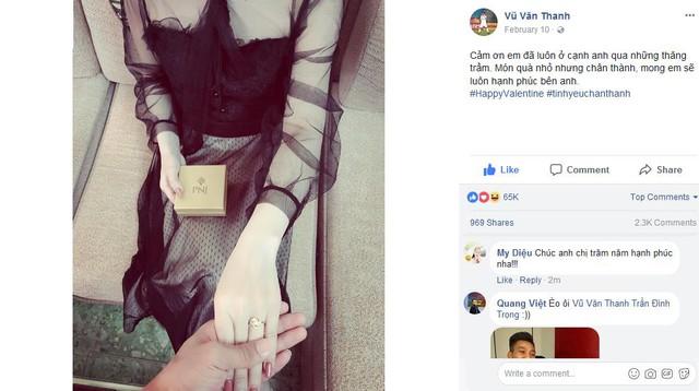 Lãng mạn thế này bảo sao bạn gái Văn Thanh không lo người yêu bị thả thính liên tục - Ảnh 4.