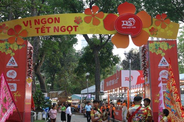 Hương vị Tết đủ đầy ở Hội Xuân Tao Đàn 2018 - Ảnh 3.