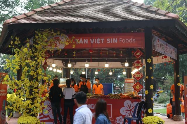 Hương vị Tết đủ đầy ở Hội Xuân Tao Đàn 2018 - Ảnh 5.