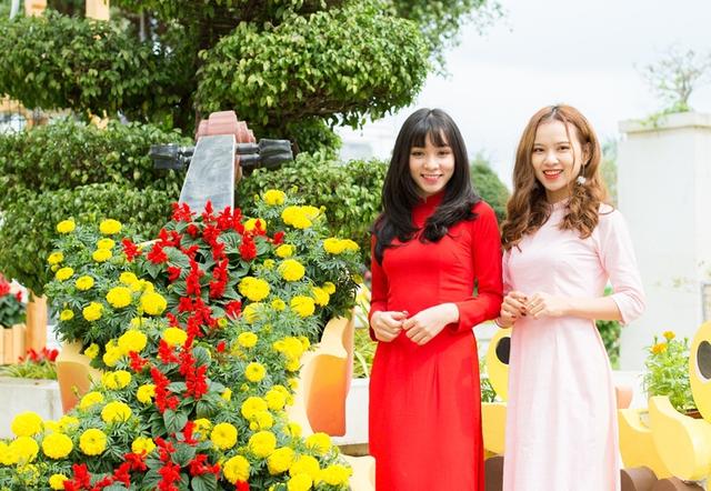 Giới trẻ háo hức chờ đón lễ hội Mai vàng sắc xuân Sun World Danang Wonders - Ảnh 3.