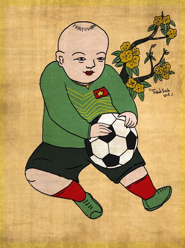 Giới trẻ Việt nồng nhiệt đón nhận làn sóng đương đại hóa tranh Đông Hồ - Ảnh 2.