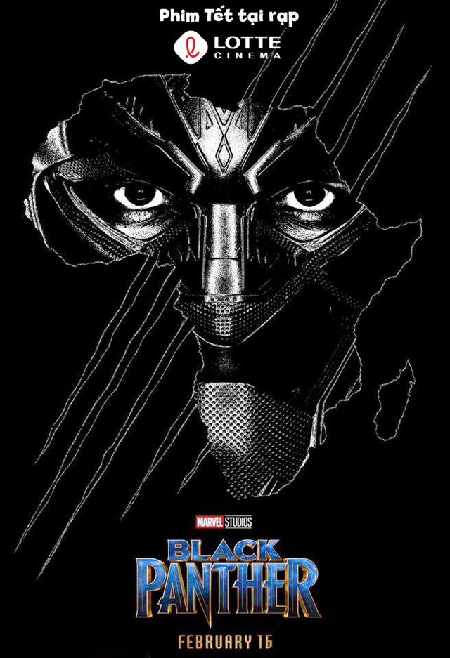 Black Panther: Siêu anh hùng Marvel thách thức cả mùa phim Tết - Ảnh 1.