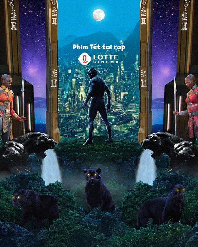 Black Panther: Siêu anh hùng Marvel thách thức cả mùa phim Tết - Ảnh 3.