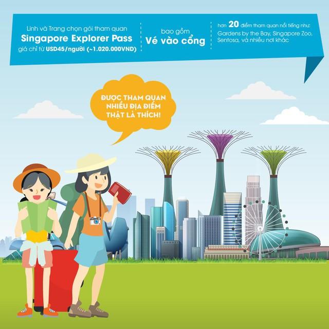 Bật mí bí kíp du lịch Singapore tự túc siêu tiết kiệm - Ảnh 5.
