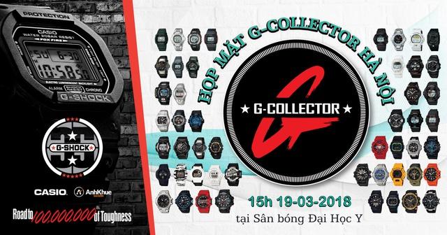 Tuấn Hưng hội ngộ fan G-Collector Casio G-Shock tại Hà Nội - Ảnh 1.