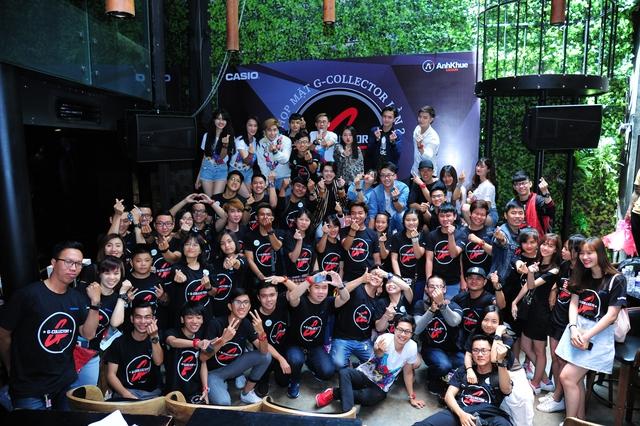 Tuấn Hưng hội ngộ fan G-Collector Casio G-Shock tại Hà Nội - Ảnh 10.