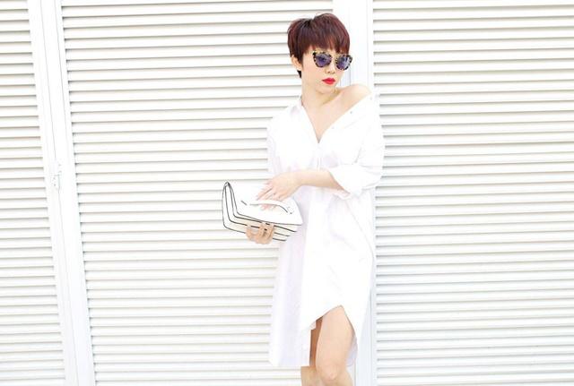 Rũ bỏ hình ảnh quý cô cổ điển, Tóc Tiên nổi bật cá tính trong bộ hình mới - Ảnh 2.