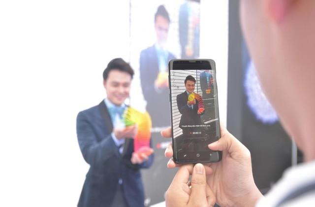 """Galaxy S9/S9+ đốn tim fan cùng khu trải nghiệm """"thấy điều không thể"""" - Ảnh 4."""