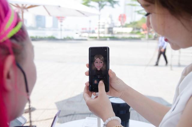 """Galaxy S9/S9+ đốn tim fan cùng khu trải nghiệm """"thấy điều không thể"""" - Ảnh 5."""
