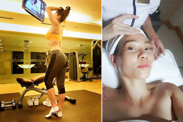 Những mỹ nhân Việt chăm chỉ đi spa làm đẹp nhất showbiz - Ảnh 8.