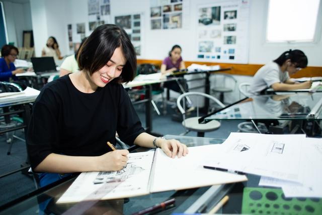 Thiết kế nội thất - Ngành học dành cho bạn trẻ có năng khiếu thẩm mĩ, đam mê sáng tạo - Ảnh 1.
