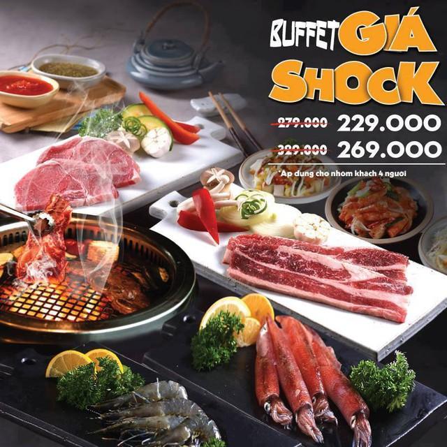 Thưởng thức ẩm thực Hàn Quốc với ưu đãi lên đến 25% khi ăn nhóm 4 tại KingBBQ - Ảnh 1.