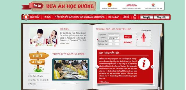 """Ajinomoto tiếp tục triển khai dự án """"bữa ăn học đường"""" tại Hà Tĩnh - Ảnh 2."""
