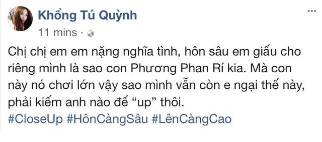 "Khong bang long voi ket thuc trong ""Thang nam ruc ro"", Hoang Yen Chibi tu ve lai cai ket ngon tinh dau dam say"