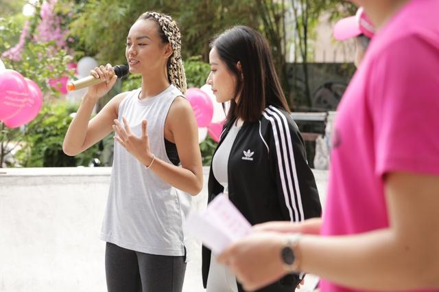 Mai Ngô, Chi Pu tích cực tham gia các hoạt động thể thao, truyền cảm hứng cho sinh viên - Ảnh 6.
