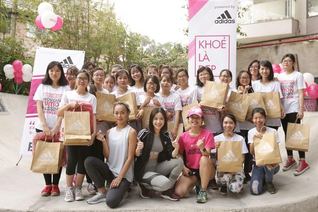Mai Ngô, Chi Pu tích cực tham gia các hoạt động thể thao, truyền cảm hứng cho sinh viên - Ảnh 10.