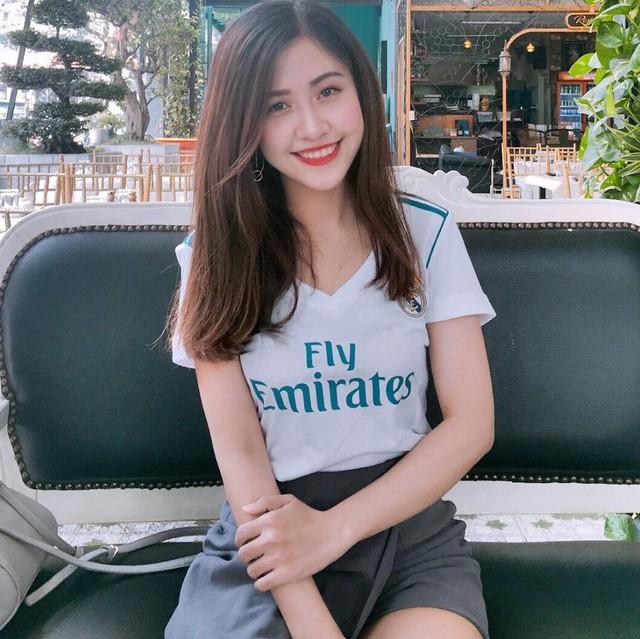 Nữ sinh fan Real Madrid xinh đẹp hút hồn bao trái tim yêu bóng đá - Ảnh 5.