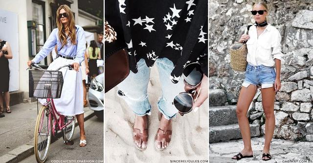 """Hermès Oran sandals – Mẫu dép cộp mác """"quý cô thanh lịch"""" - Ảnh 6."""