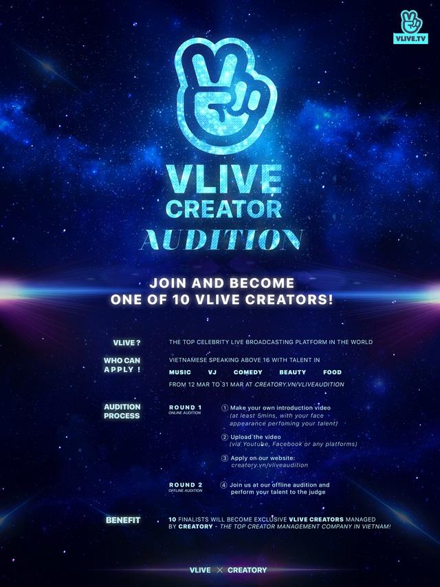 VLIVE chào đón thế hệ creators tiếp theo - Ảnh 5.