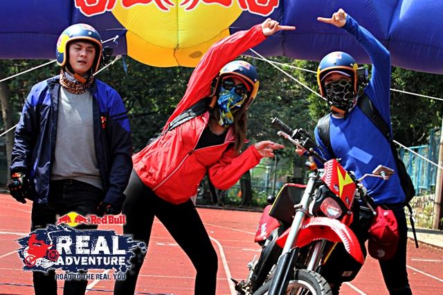 Các mỹ nhân The Face và Next Top Model xuất chiêu trong show mạo hiểm Red Bull - Hành Trình Đích Thực - Ảnh 5.