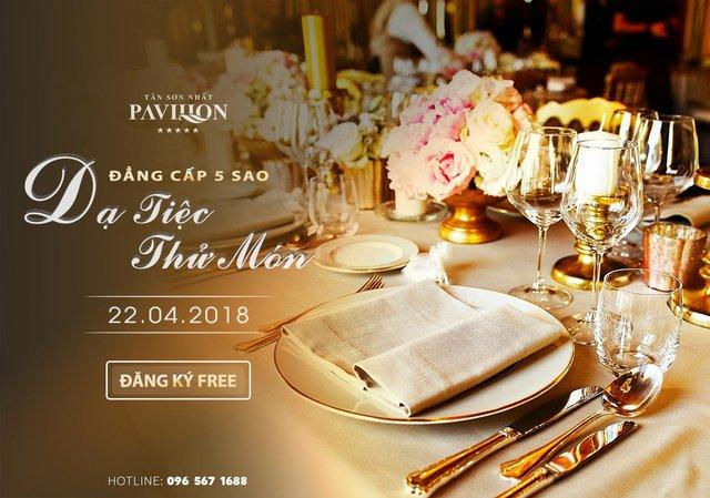 Chờ đón trải nghiệm cưới hoành tráng tại nhà hàng 5 sao Tân Sơn Nhất Pavillon - Ảnh 3.