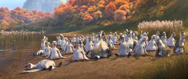 Duck Duck Goose - Cuộc hành trình cười ra nước mắt của những chú vịt trời vui nhộn - Ảnh 3.