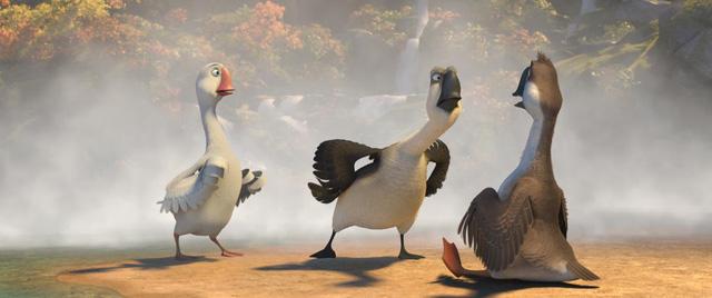 Duck Duck Goose - Cuộc hành trình cười ra nước mắt của những chú vịt trời vui nhộn - Ảnh 5.