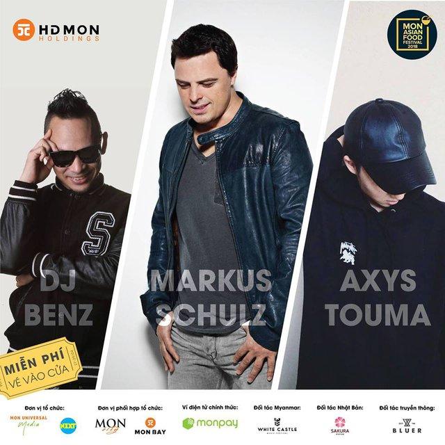Mỹ Tâm, DJ Markus Schulz sẽ phá đảo sân khấu MAFF 2018 - Ảnh 2.