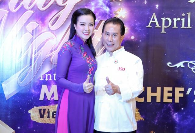 """Martin Yan, Đỗ Mỹ Linh tham gia """"Đêm nhân ái"""" cùng các đầu bếp quốc tế - Ảnh 5."""