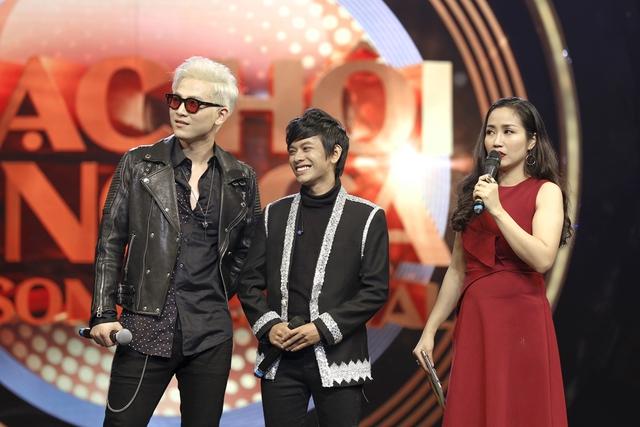 """Minh Xù – Vũ Thịnh giành """"ghế vàng"""" tại đêm thi đầu tiên của Nhạc hội song ca mùa 2 - Ảnh 4."""
