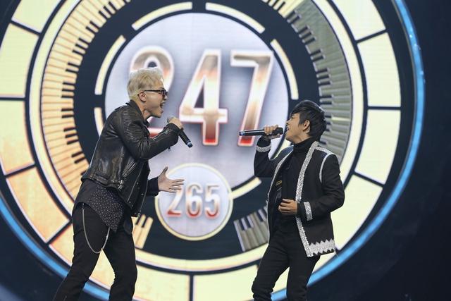 """Minh Xù – Vũ Thịnh giành """"ghế vàng"""" tại đêm thi đầu tiên của Nhạc hội song ca mùa 2 - Ảnh 5."""
