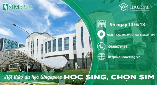 """Ngày hội du học Singapore """"Học Sing chọn SIM"""" - Ảnh 1."""