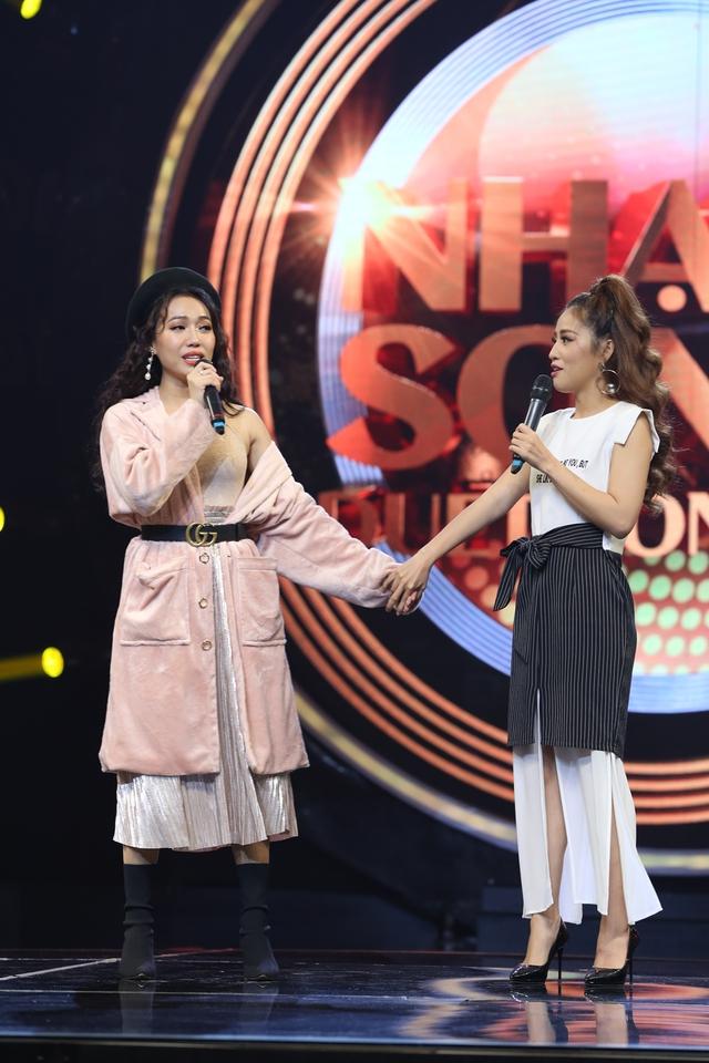 Puka, Diệu Nhi khiến sân khấu Nhạc hội song ca mùa 2 náo loạn với màn song ca thảm họa - Ảnh 7.