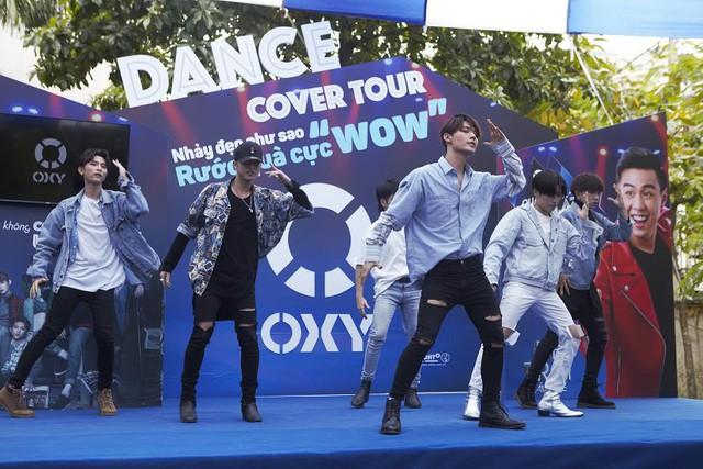 UNI5 và HuyMe khuấy động mùa hè cùng Oxy Dance Cover Tour - Ảnh 2.