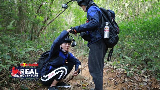 Kim Nhã khóc nấc, Lâm Vinh Hải lần đầu cáu kỉnh với đồng đội trong Red Bull - Hành trình Đích thực - Ảnh 2.