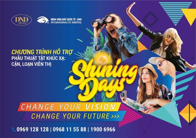 """Shining Day DND 2018: Cơ hội để các bạn trẻ """"tháo kính"""" với vô vàn ưu đãi - Ảnh 1."""