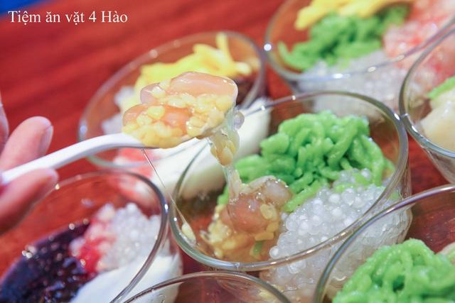 """Khám phá tiệm ăn vặt 4 Hào nổi tiếng ngon """"điên đảo"""" ở Hà Nội - Ảnh 1."""