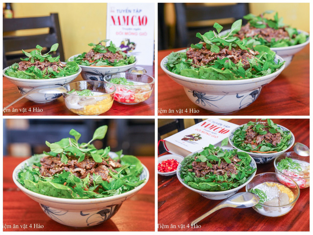 """Khám phá tiệm ăn vặt 4 Hào nổi tiếng ngon """"điên đảo"""" ở Hà Nội - Ảnh 7."""