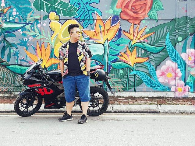 Giới trẻ Hà thành thi nhau check-in ở bức tường Hoa Thiên Điểu trên phố đi bộ Trịnh Công Sơn - Ảnh 7.