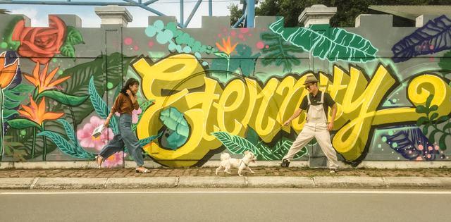 Giới trẻ Hà thành thi nhau check-in ở bức tường Hoa Thiên Điểu trên phố đi bộ Trịnh Công Sơn - Ảnh 8.