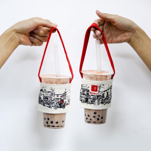 Hà Nội bắt kịp trào lưu quai vải trà sữa bảo vệ môi trường - Ảnh 5.