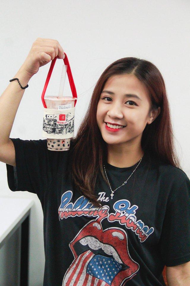Hà Nội bắt kịp trào lưu quai vải trà sữa bảo vệ môi trường - Ảnh 6.
