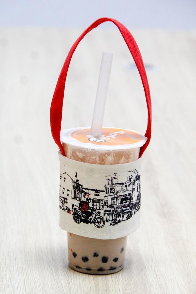 Hà Nội bắt kịp trào lưu quai vải trà sữa bảo vệ môi trường - Ảnh 7.