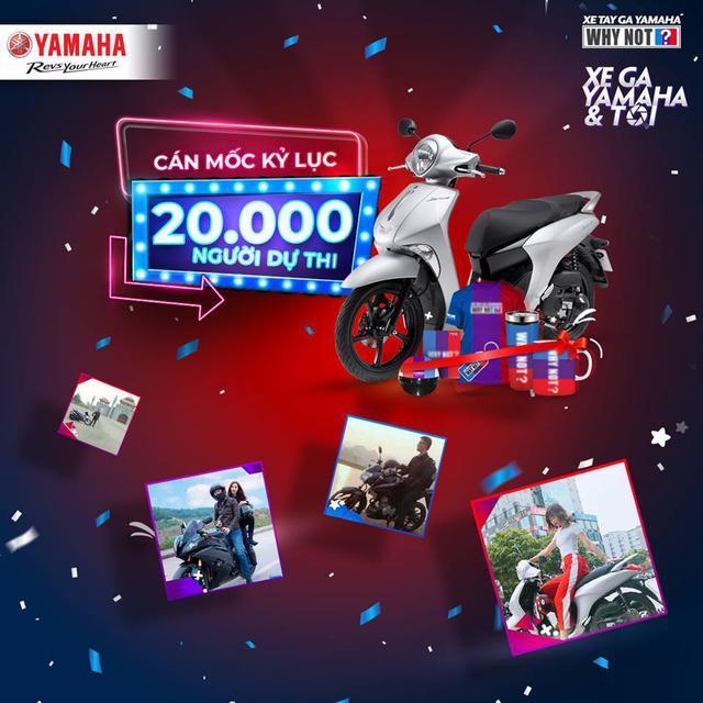 """Hơn 20.000 khách hàng đã nói lời """"yêu"""" với xe tay ga Yamaha hoành tráng như thế này đây! - ảnh 1"""