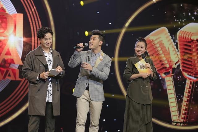 Diệu Nhi, Lê Lộc, Thanh Duy phấn khích tột độ khi gặp thần tượng Ưng Hoàng Phúc tại Nhạc hội song ca mùa 2 - Ảnh 2.