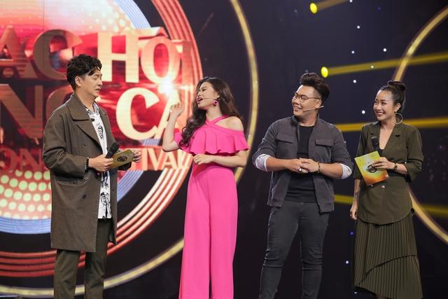 Diệu Nhi, Lê Lộc, Thanh Duy phấn khích tột độ khi gặp thần tượng Ưng Hoàng Phúc tại Nhạc hội song ca mùa 2 - Ảnh 3.